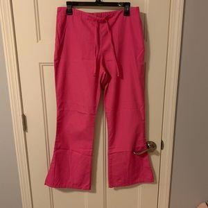 💕 pink scrub pants!